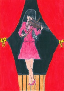 The Art of Music by Vitoria age 14 from Brazil