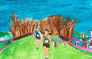 Cross Country Run by Lauren age 12 from Stamford, CT