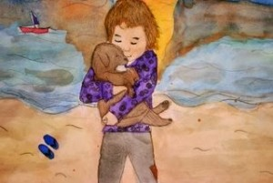 My Loyal Friend by Lizbeth, age 16 from Chicago, IL USA.