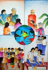 The World Connecting by a student from Cambodia named Sua, age 15