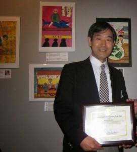 BLOG Seiji at art show