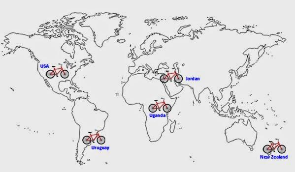 BLOG Cycling Map