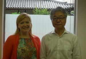 Christi with Tomo Watanabe