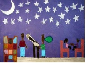 Chand Raat (Moonlit Night) By Ayesha Age: 14 USA