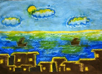 Moonlight in Night By Erandani Age: 10 Sri Lanka