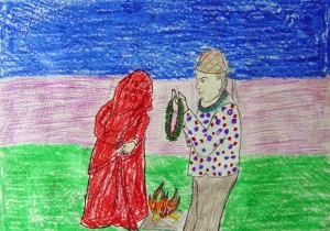 Nepali Marriage by Shanti, age 12 from Nepal