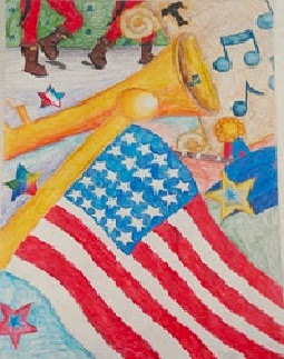 "Freedom of Country, Freedom of Heart,"" by Kirsten, age 12 from the USA"