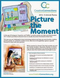 Picture the Moment theme flyer