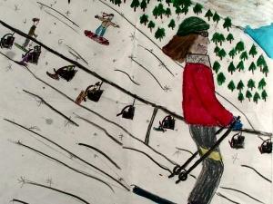 On The Ski Slope