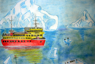 """Ice in the End of the World"" by Benjamin, age 14 from Chile"