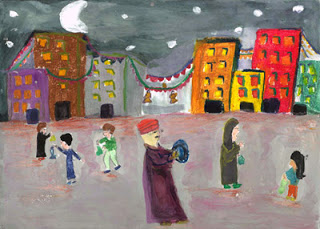 """Celebration of Ramadan"" by Farida, age 11 from Egypt"