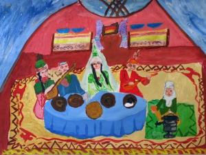Kazakh Wedding