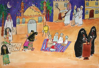 """Ramadan Night"" by Hanouf, age 13 from Kuwait"