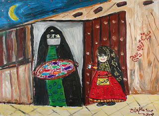 """Qirqaian Nights"" by Badriya, age 14 from Kuwait"