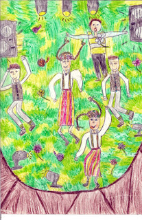 """Dance Symphony"" by Lina, age 10 from Latvia"