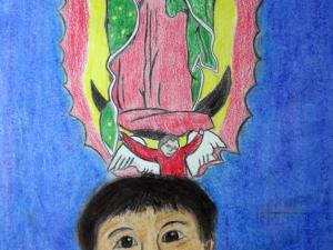 Virgen de Guadalupe Protects Me Always