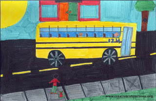 """My School Bus"" by Aniruddh, age 12 from USA"