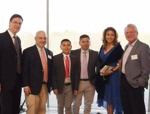 Photo gala with cris and Mayor