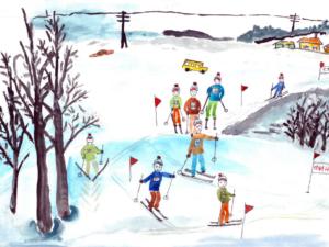 Team Skiing