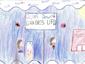 Guns Down! Grades Up!